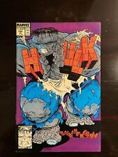 INCREDIBLE HULK 345 MARVEL COMIC TODD MCFARLAND 1988 Excellent COND!!