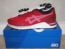 Asics Gel Lyte EVO NT Red / White Mens Size 10 DS NEW! HN544-2301 III V 3 5