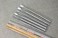 SET OF 6 STAINLESS PRECISION WOOD CARVING CHISELS WHITTLING TOOLS