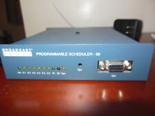 Broadcast Tools PS-99 Programmable Scheduler Controller 99 events, 6 relays