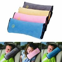 Kids Car Safety Strap Cover Harness Pillow Child Cushion Shoulder Seat Belt Pad