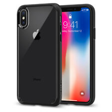 For iPhone X 10 I Spigen® [Ultra Hybrid] Clear Hybrid TPU Shockproof Case  Cover