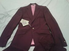 VIVIENNE WESTWOOD MAN 2-piece  purple James suit size 44 new with tags