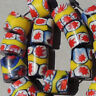18 old antique venetian cylindrical millefiori african trade beads #1762