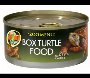 2 X Zoo Menu Box Turtle Food 6 Oz Cans- 12 Oz Total - Thailand
