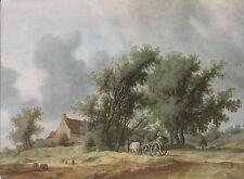 Ansichtskarte - Salomon van Ruysdael / Nach dem Regen