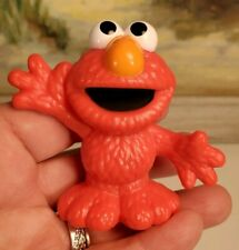 "Sesame Workshop Elmo Figurine Plastic Collectible Cake Topper Hasbro 2.5"" 1B"