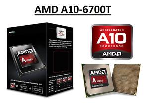 AMD A10-6700T Quad Core Processor 2.5 - 3.5 GHz, Socket FM2, 45W CPU