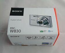 Sony Syber shot silver DSC-W830