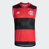 Flamengo Home Soccer Football Tank Top Jersey Shirt - 2021 2022 Adidas Brazil