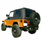 For 97-06 Jeep Wrangler Replacement Soft Top Upper Skins Diamond Black