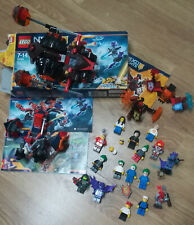 Lot 3 Lego Nexo Knights 70313 7036170338 + Joker Batman personnages vrac
