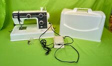 Nice Janome New Home Model L-393 Sewing Machine w/ Foot Pedal and Cover!