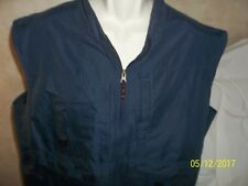 Men Shirt Big Sky Outfitters Vest Hunting/Fishing Vented Size X-Large XL