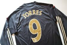 LIVERPOOL 2009/2010 AWAY SHIRT JERSEY CAMISETA #9 TORRES LONG SLEEVE LFC BOYS M