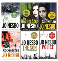 Jo Nesbo Harry Hole Early Cases 6 Books Collection Pack Set- Police,The Leopard