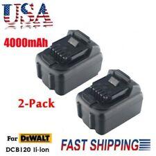 2xFor Dewalt 10.8 Volt Max Lithium Ion Dcb120 Dcb127 Dcb121 Battery Pack 4.0Ah