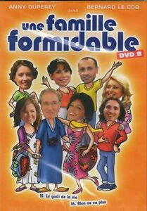 une famille formidable dvd 8 (FRENCH SOUND ONLY) new & sealed