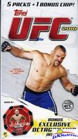 2010 Topps UFC Series 4 EXCLUSIVE Factory Sealed Blaster Box w/ Octagon Chip!