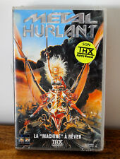 VHS METAL HURLANT LA MACHINE A REVER Neuf sous blister version FR K7