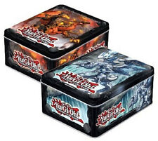 YUGIOH 2013 Set of 2 tins Blaster Dragon Ruler of Inferno & Tidal tin SEALED!