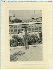 PHOTO ANCIENNE - ENFANT DÉGUISEMENT COWBOY - CHILD DISGUISE - Vintage Snapshot