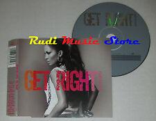 CD Singolo JENNIFER LOPEZ Get right 2005 EPIC EPC 675645 2 (S1*) mc dvd