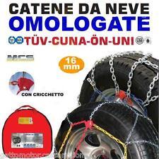 CATENE NEVE 255/65-16 MELCHIONI 16MM FURGONI COMMERCIALI CAMPER SUV CF1645