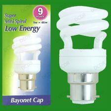 12x 9W (=46W) basse consommation économie d'énergie LCF MINI SPIRALE