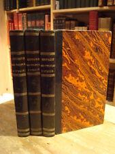 C. Botta Histoire des Peuples d'Italie 1825 Bibliothèque du XIXe siècle