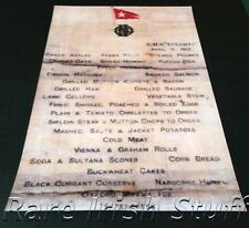 Titanic White Star Line First Class Breakfast Menu 11th April 1912 - Print
