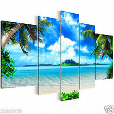 Unframed HD Canvas Print Hawii Seascape Summer Home Decoration Wall Art Pictures