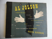"Al Jolson Decca You Made Me Love You My Blushin' Rosie 4 Lot 78rpm 10"" 198-5G"