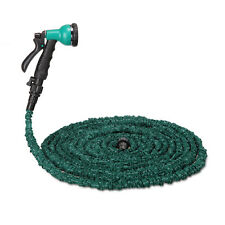 25 50 75 100 FT Durable Expandable Flexible Garden Water Hose + Spray Nozzle New