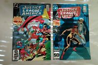 Justice League of America issues #238 239 (DC,1980s) Vixen Elongated Man Gypsy