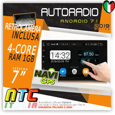 AUTORADIO 2 DIN ANDROID 9.0 MP3 WIFI AUX FIAT STILO,DOBLO,IDEA,PANDA,SEDICI G...