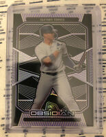Gleyber Torres 2020 Panini Chronicles Obsidian Etched New York Yankees #'d 80/99
