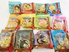 One Piece Cookie Mascot all 12 Types Complete set Luffy Anime Manga f/s Japan