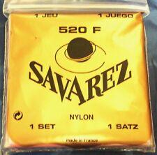 """SAITEN  """"SAVAREZ 520F""""  NYLON  224204  FÜR KONZERT-GITARRE"""