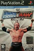 WWE SmackDown vs. RAW 2007 (PS2), Very Good PlayStation2, Playstation 2 Video Ga