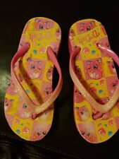 Preowned girls pink shopkins pink sandals  youth shoes  11 12