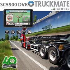 """Snooper SC5900 DVR Truckmate G2 Dash Cam GPS Lorry HGV & Car Sat Nav 5"""" UK & EU"""