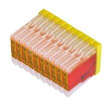 10 amarillo para BROTHER LC970 DCP135C MFC240C DCP130C DCP150C MFC235C MFC440CN