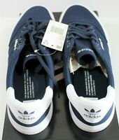 Adidas 3MC Skateboarding Canvas Shoes Navy Blue White B22707 - Size 11