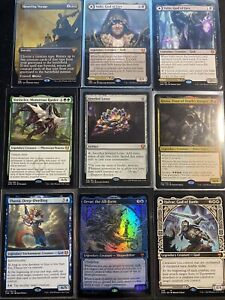 Magic The Gathering Mystery Packs Mythic's Rare's and Uncommons