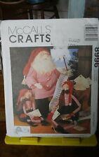 "Rare Tree House Mccalls Crafts 8996 Checking it Twice Santa Elves 15-18"" dolls"
