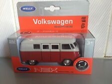 Welly Nex VW Volkswagen Bus red die cast Model New!