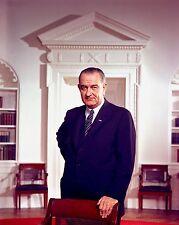 "Lyndon B. Johnson 10"" x 8"" Photograph"