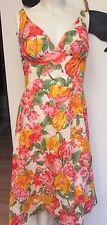 Vintage 60's HALTER Sun Swim Party Dress DeWeese Design California SMALL 32-34