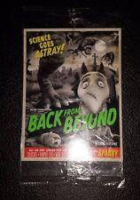Frankenweenie Disney Movie Sparky Back From Beyond Card Pack Unopened Regal